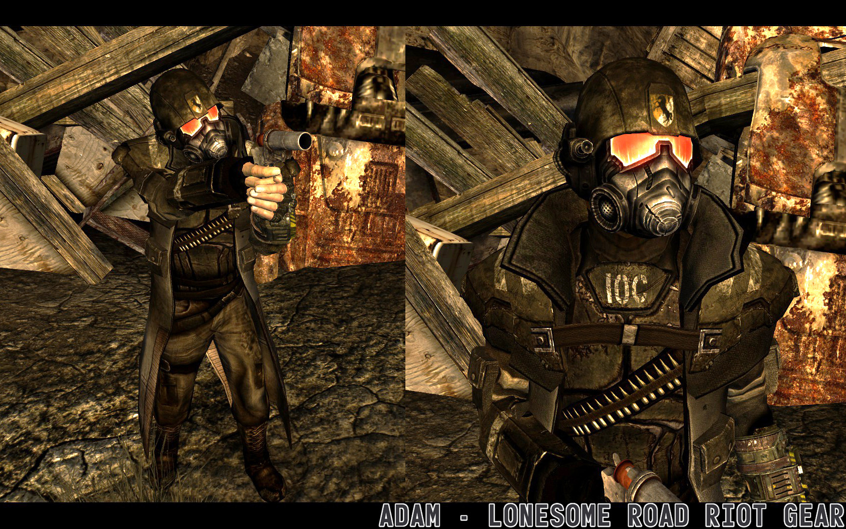 how to get fallout new vegas armor