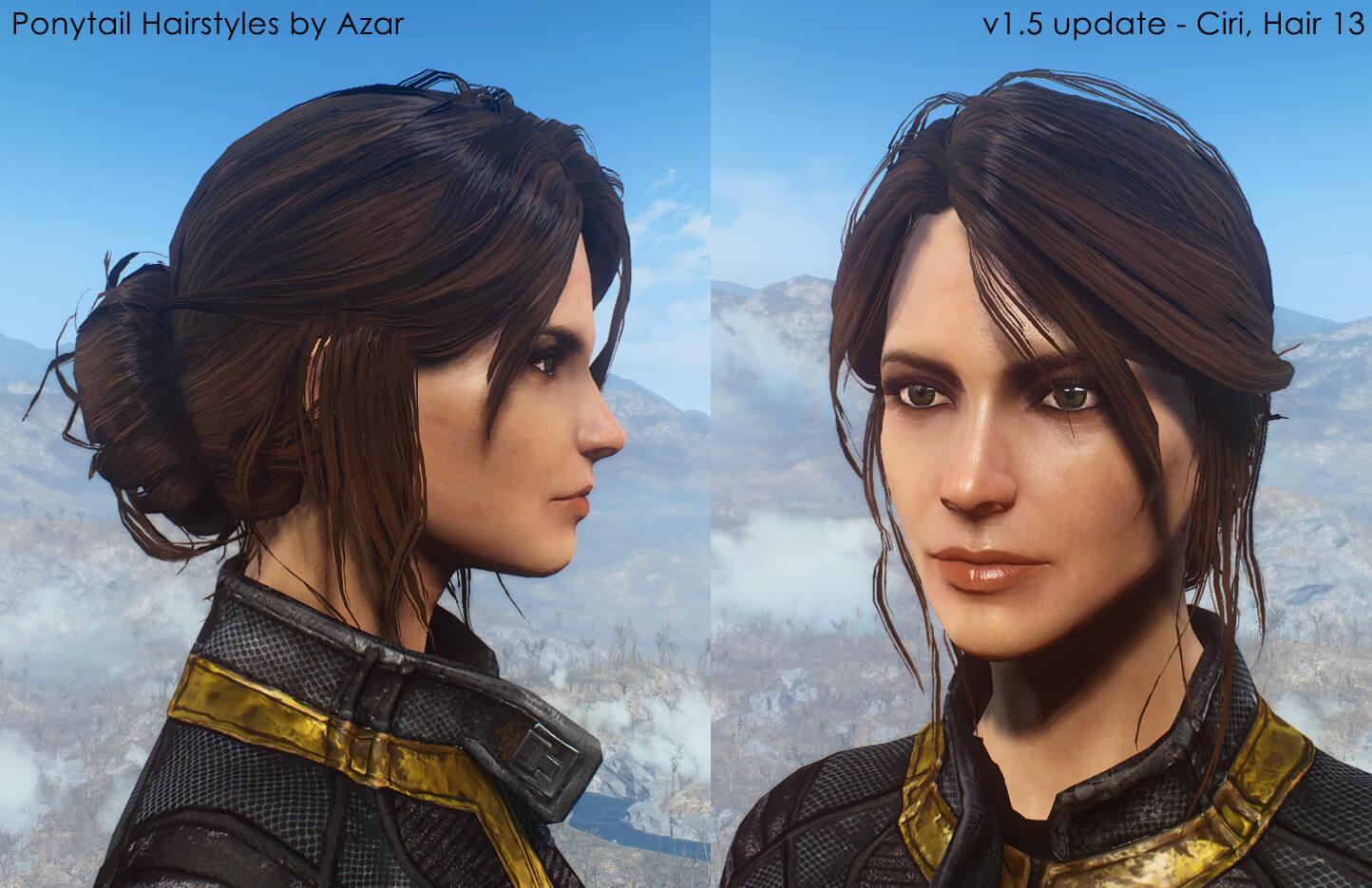 Top Five Fallout 4 Hair Mods - Circus