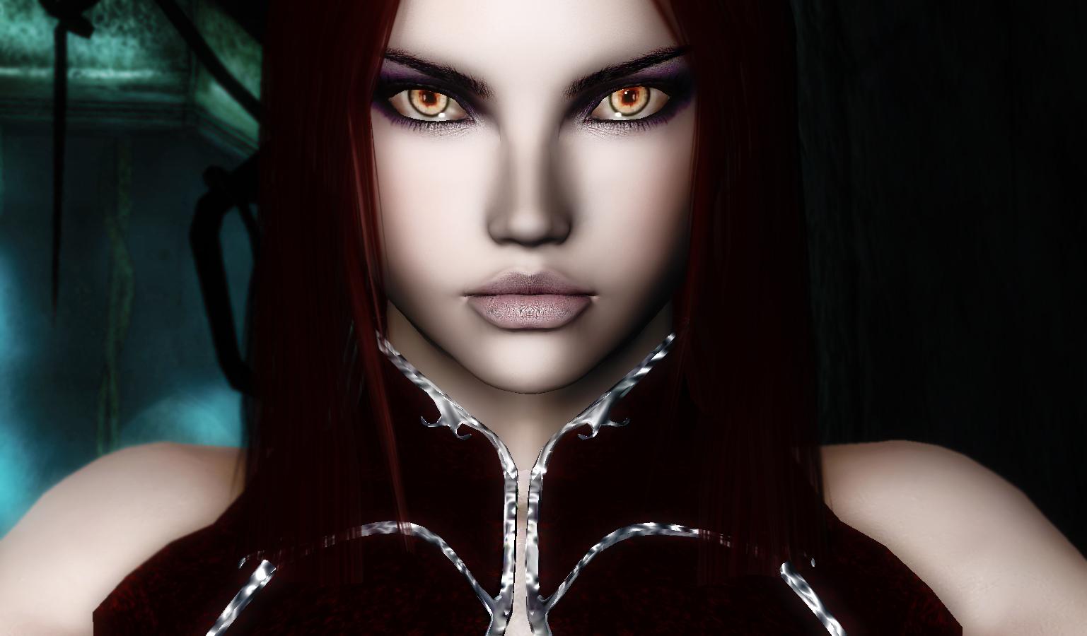 Прически для вампиров в скайрим